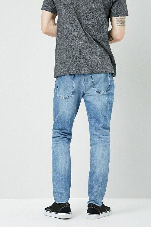 Lightly Distressed Slim-Fit Jeans, image 3