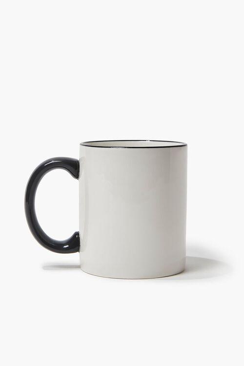 WHITE/BLACK Bring Me Snacks Graphic Mug, image 2