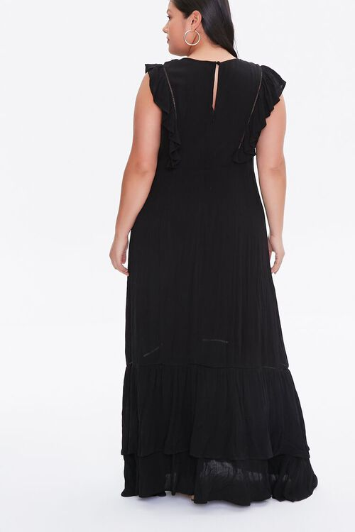 Plus Size Embroidered Maxi Dress, image 3
