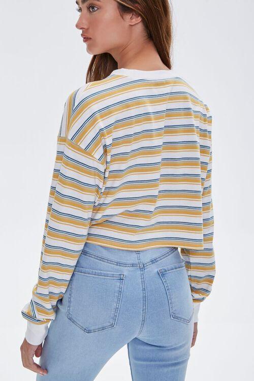 Striped Crop Top, image 3