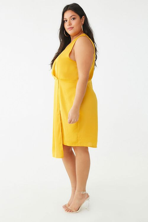 Plus Size Missguided Sleeveless Mini Dress, image 2