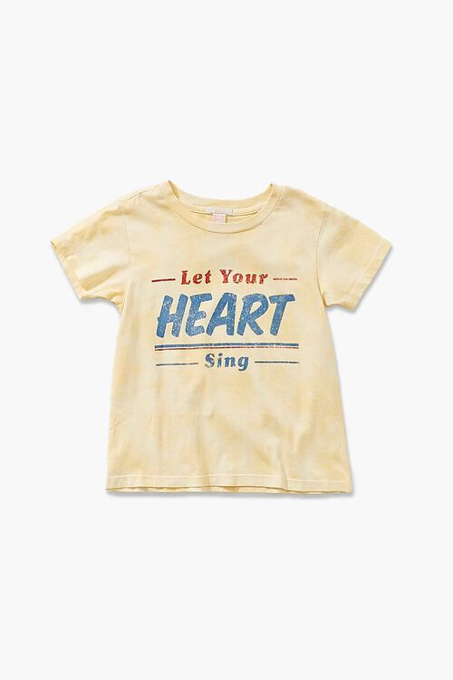 Girls Heart Sing Graphic Tee (Kids), image 1