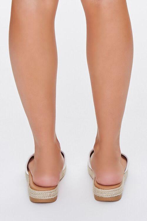 Faux Suede Espadrille Sandals, image 3