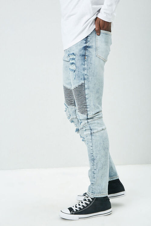 Distressed Moto Jeans, image 3