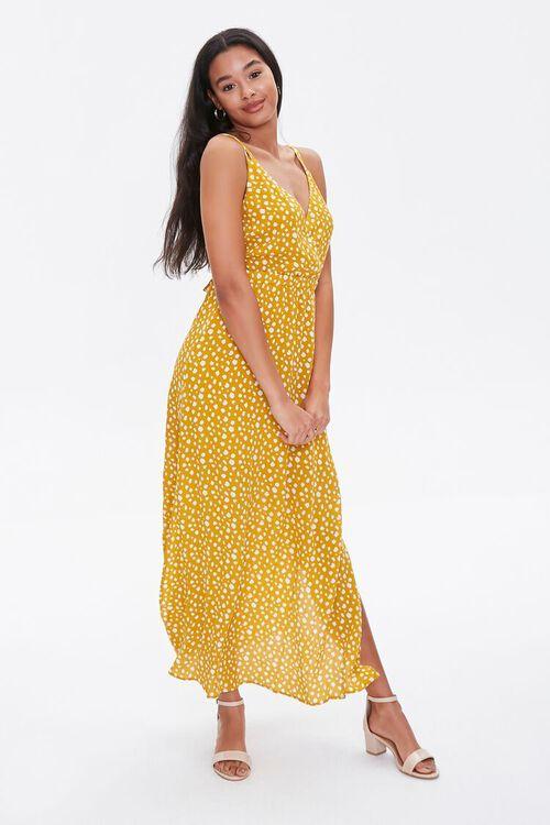 Spotted Print M-Slit Dress, image 1