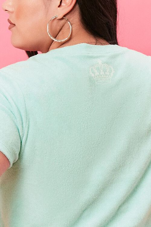 Plus Size Terry Cloth Juicy Couture Tee, image 6