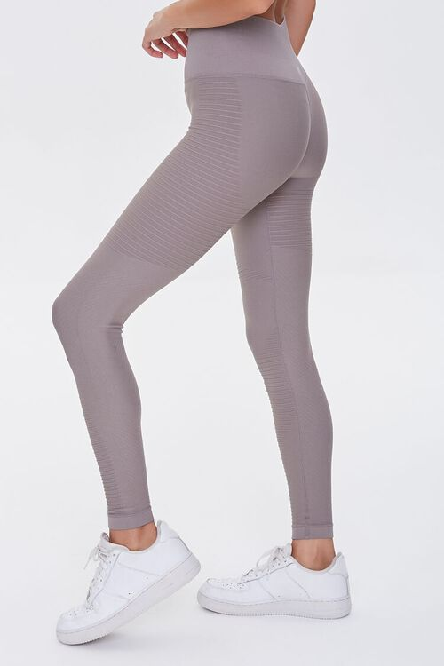 TAUPE Active Seamless Leggings, image 3