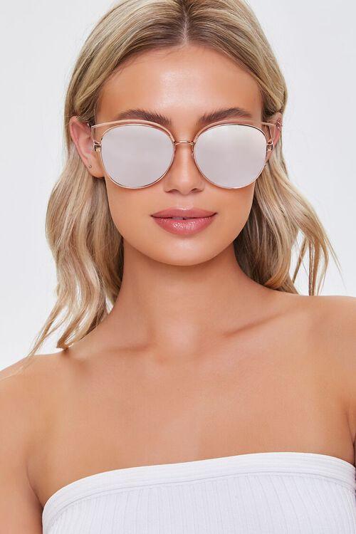 Metal Cat-Eye Sunglasses, image 1