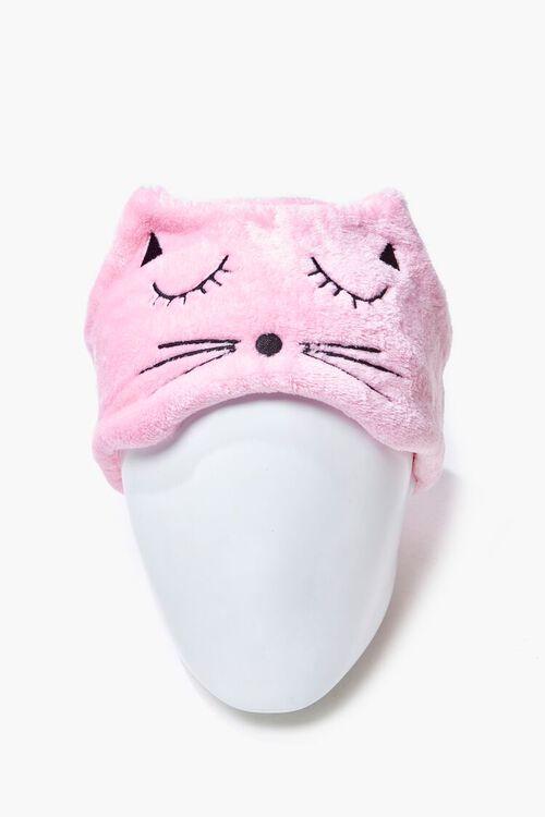Plush Cat Graphic Headwrap, image 2