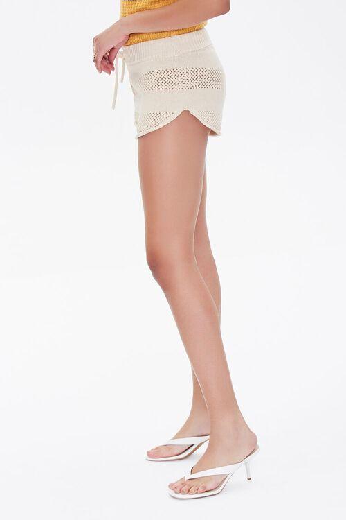 Perforated Drawstring Shorts, image 3