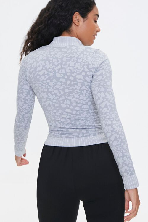Active Seamless Animal Print Jacket, image 3