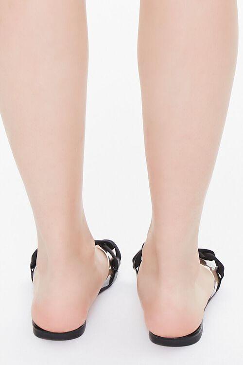 Curb Chain Flat Sandals, image 3