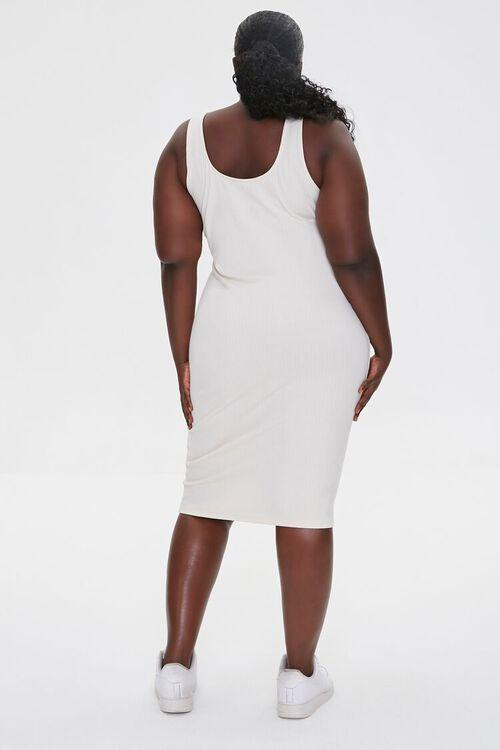 Plus Size Ribbed Tank Dress, image 3