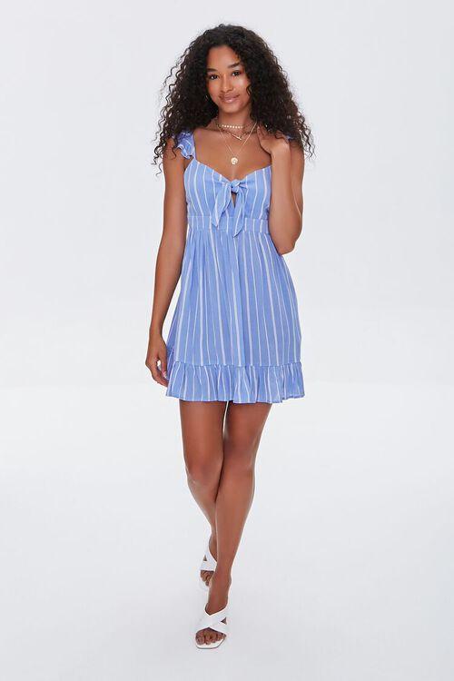 Striped Mini Dress, image 4