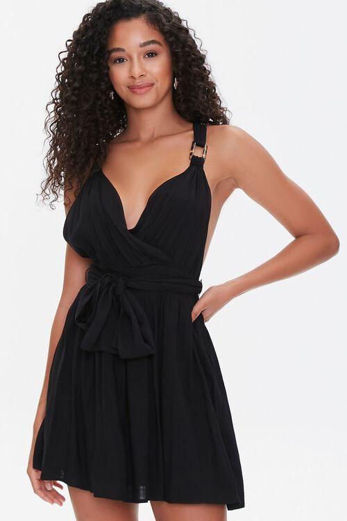Surplice Mini Dress, image 1