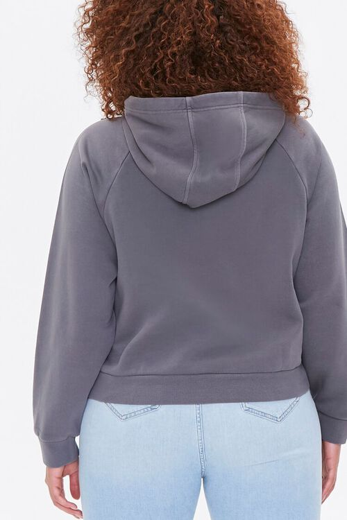 Plus Size Fleece Hoodie, image 3