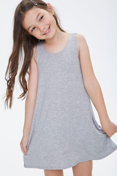 Girls Tank Swing Dress (Kids), image 1