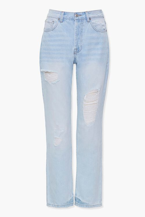 Distressed Boyfriend Jeans, image 1