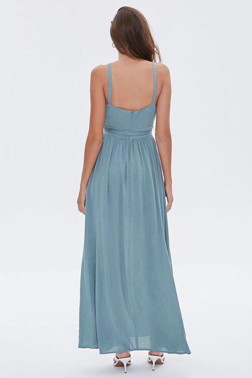 Keyhole Halter Maxi Dress, image 3