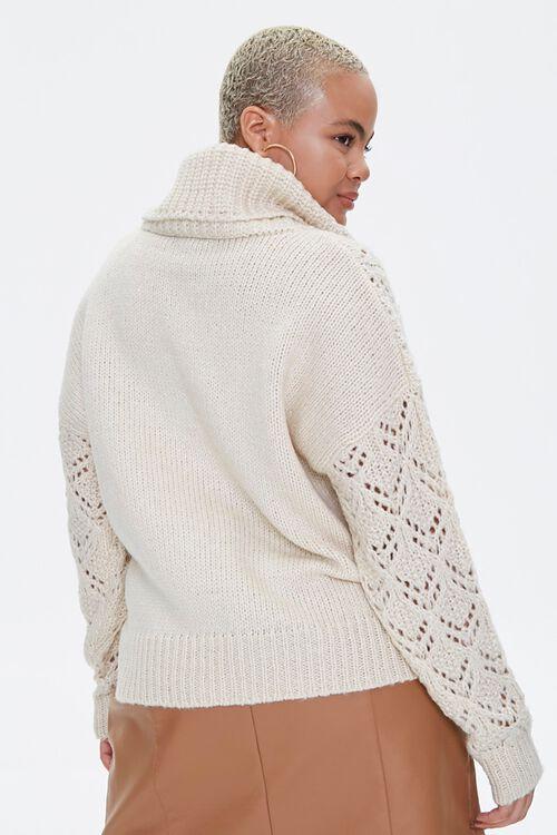 Plus Size Turtleneck Sweater, image 3