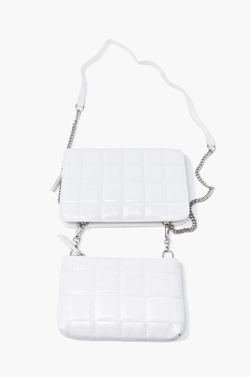 Quilted Dual Crossbody Bag, image 2