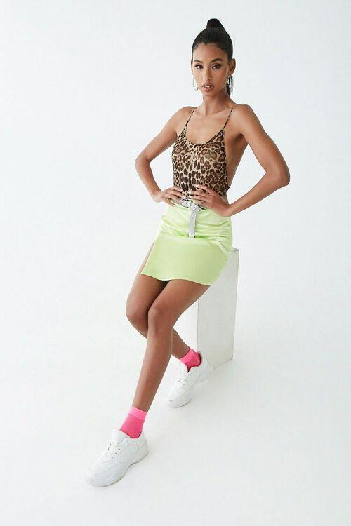 Leopard Print Mesh Bodysuit, image 4