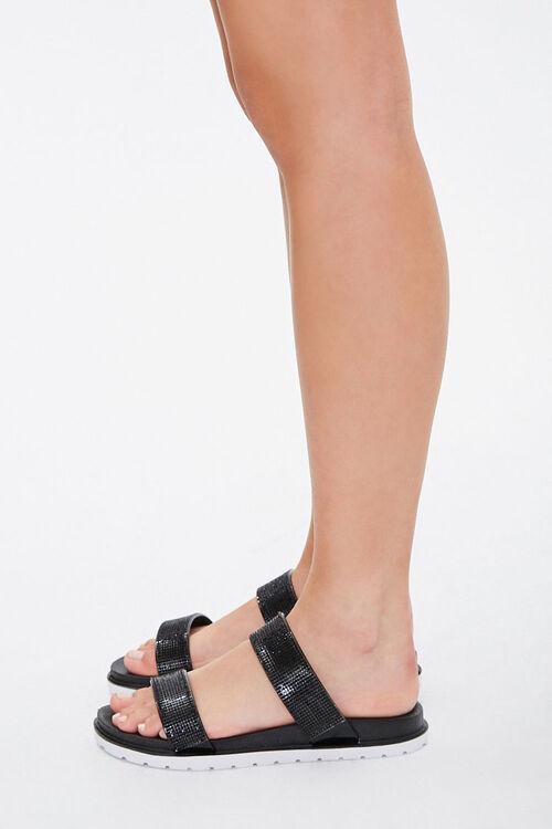 Faux Gem Double-Strap Sandals, image 3