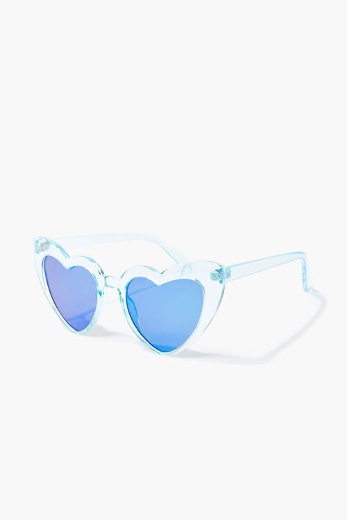 Transparent Heart-Shaped Sunglasses, image 2