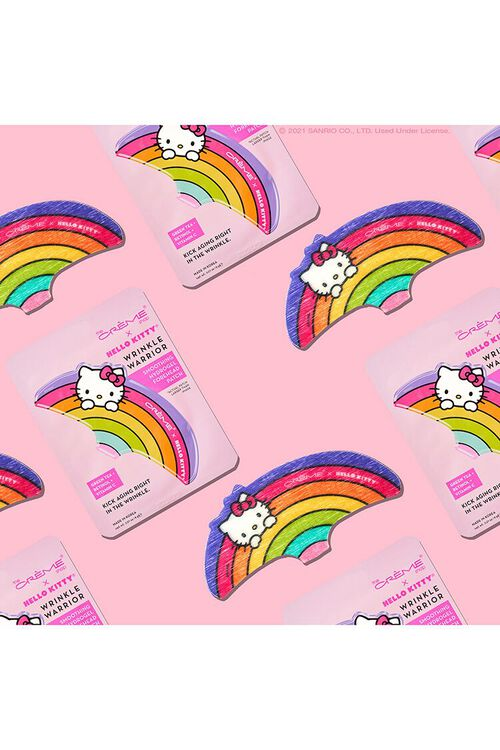 PINK/MULTI Hello Kitty - Wrinkle Warrior Smoothing Hydrogel Forehead Patch, image 1