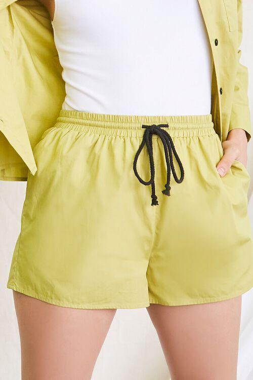 OLIVE Pocket Shirt & Drawstring Shorts Set, image 6