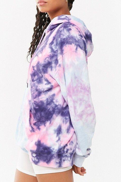 Tie-Dye Longline Hoodie, image 2