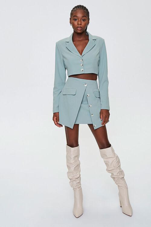 Button-Down Overlay Skirt, image 4