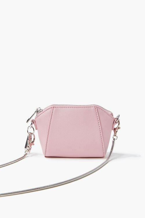 Faux Leather Crossbody Bag, image 1