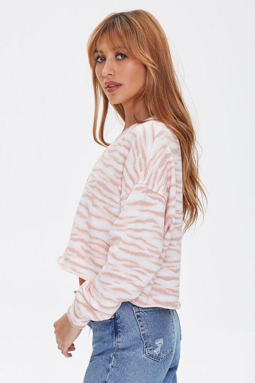 Tiger Striped Print Pullover, image 2