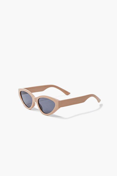 Tinted Oval Sunglasses, image 4