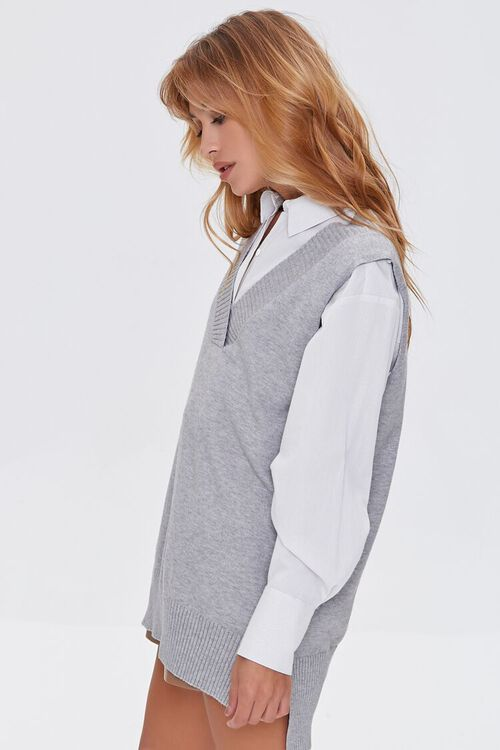 High-Low Sweater Vest, image 2