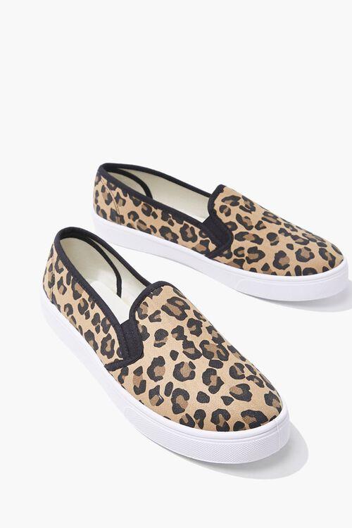 Leopard Print Slip-On Sneakers, image 3