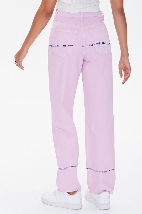Tie-Dye Straight Jeans, image 4