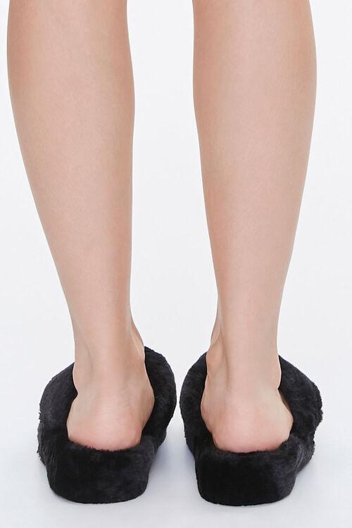 Plush Thong Slippers, image 3