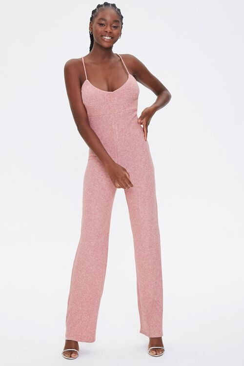 Ribbed Cami Jumpsuit, image 1