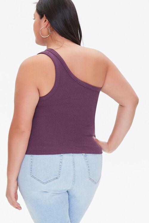 Plus Size One-Shoulder Crop Top, image 3