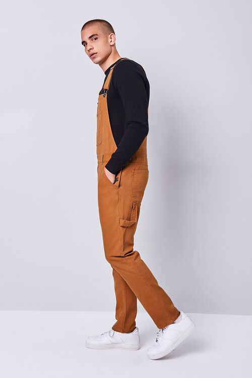 Slim-Fit Utility Overalls, image 3