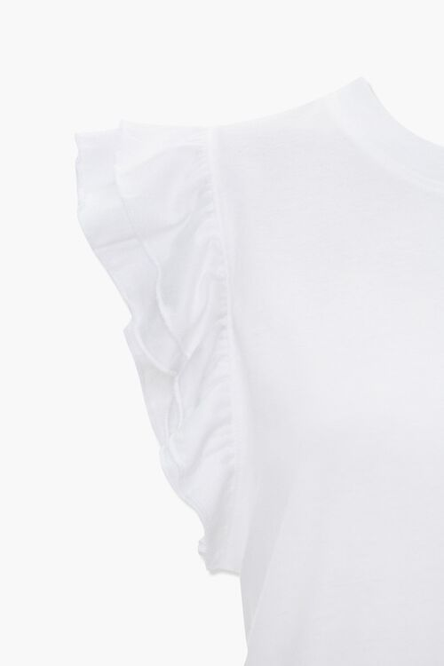 Tiered Ruffle Sleeve Top, image 4