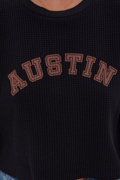 BLACK/MULTI Austin Graphic Cropped Tee, image 5