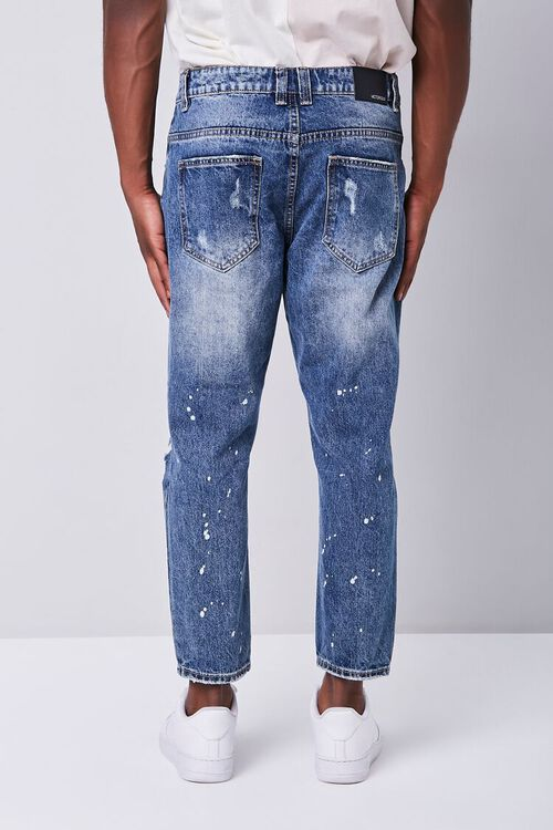 Paint Splatter Distressed Ankle Jeans, image 3