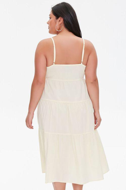 Plus Size Flounce Cami Dress, image 3