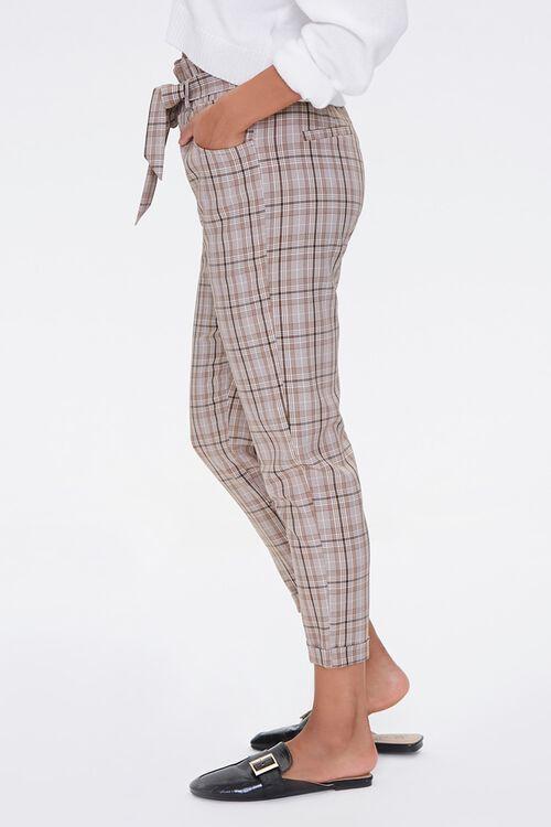 Plaid Paperbag Pants, image 2