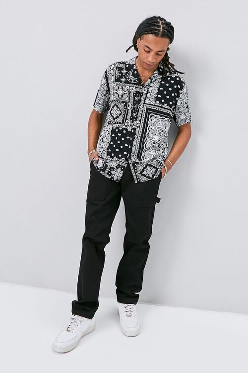 Classic Fit Paisley Print Shirt, image 4