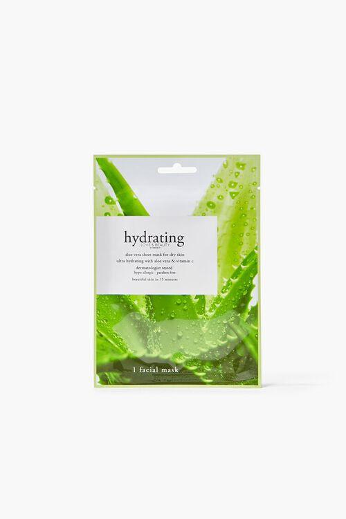 GREEN Hydrating Sheet Face Mask, image 1