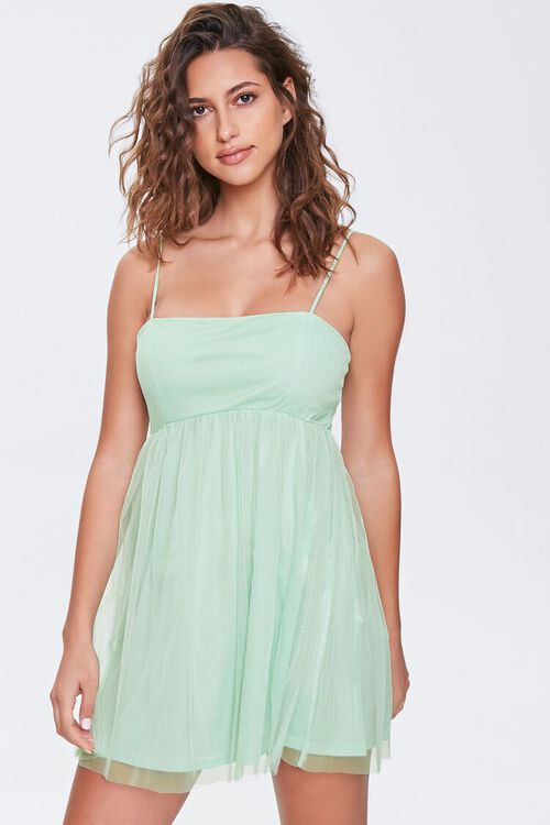 Fit & Flare Cami Mini Dress, image 1